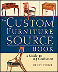 Custom Furniture Source Book cover